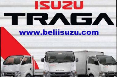 promo isuzu traga box alumunium full