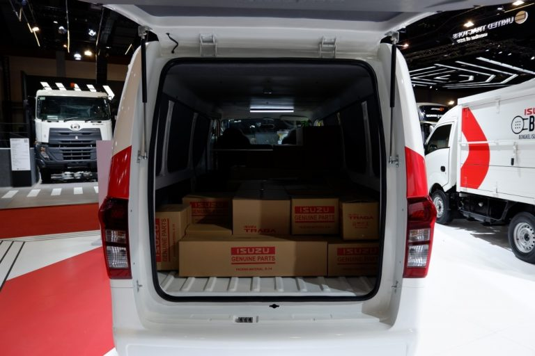 isuzu traga microbus terbaru